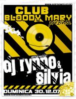 flyer BloodyMary - DJ Rynno by semaca2005