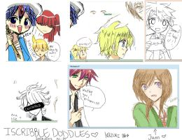Iscribble doddles by deaeru