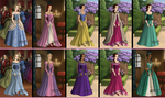Who's Who Tudor Disney Princesses v2 by rini1031