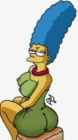 Marge Simpson by omar-sin