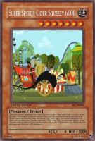 Super Speedy Cider Squeezy (MLP): Yu-Gi-Oh! Card by PopPixieRex