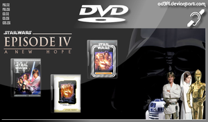 DVD - 1977 - Star Wars Episode 4 A New Hope by od3f1