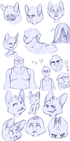 Expressions and Things by bruxing