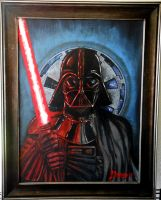 Darth Vader Portrait by JSimonART