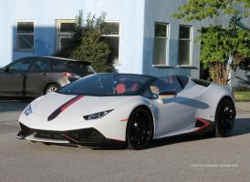 Huracan Spyder by SeanTheCarSpotter