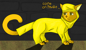cat!Stephano by Honoo-Koneco