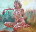 Nude in the colours 2 by renatadomagalska
