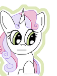 Sweetie Belle by tyffanwy