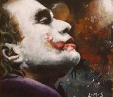 Joker profile ACEO by sullen-skrewt
