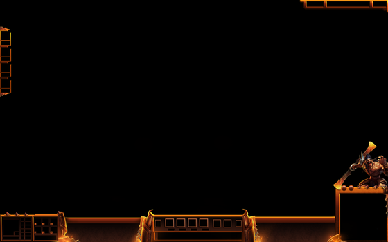 Gladiator Draven League of Legends Overlay by Melificence