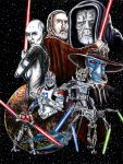 Villains of the Clone Wars by siebo7