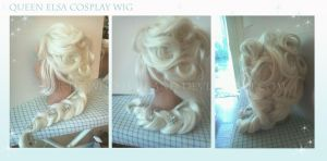 Queen Elsa Cosplay Wig by For-He-who-is-grand