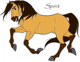 Spirit Stallion Of Cimarron by white-wolf27