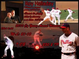 Roy Halladay Collage by philliesorca