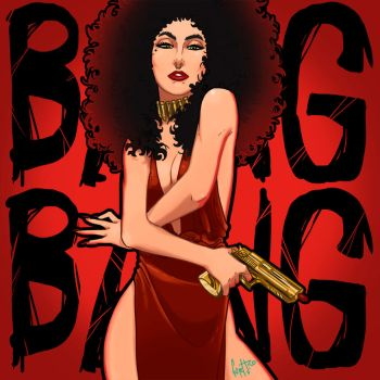 LADY GAGA: BANG BANG! Cheek To Cheek by FelipeJiRo