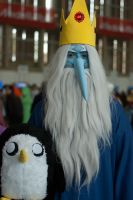 Ice King and Gunter by moonlightspirit