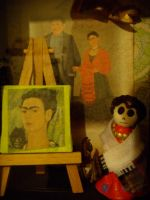 Another Frida by alteredboxes
