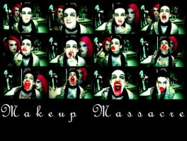 Make-Up Massacre- wiL+Jeffree by RomancedWithWhispers