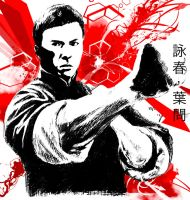 Wing Chun, Ip Man by fong-saiyuk