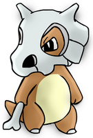 1st Ground (part 2) - Cubone by PlushBuddies