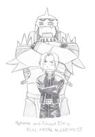 The Elric Brothers by NoShakingThrone
