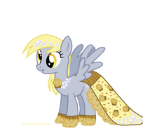 Derpy's Gala Dress by PrettyLittleWolf