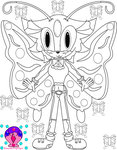 COLOR ME: .:Mimzy the Butterfly:. by ZabrinatheDiverhog