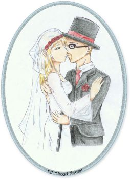 .:Red and Adam Wedding:. by Angel-Naomi