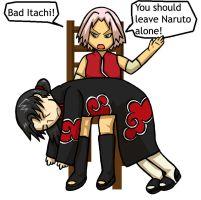 Bad Itachi by jam2599