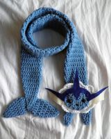 Vaporeon Scarf by Katburger15