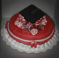 Grad Cake for My Brother by Sister-of-Charity