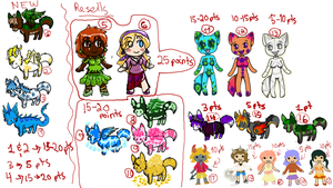 Adopts Resells by FoxWarrior17