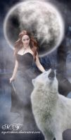 Queen of the wolves. by lizjowen