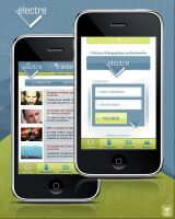 Application Iphone by JFDC