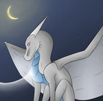 Silver - A Tender Connection by HopeaDreki