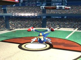 Sonic Breakdancing by SpongicX