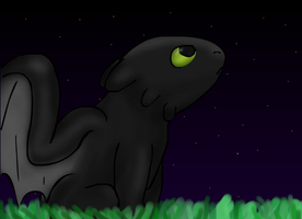 Toothless Fan Art by pokefan444