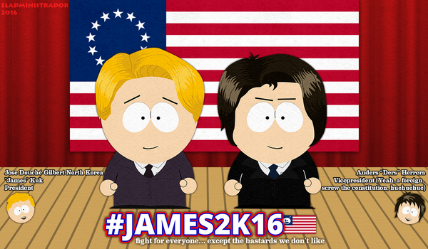 James for President in 2016 - [GF] by hercamiam
