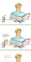 Ask Steve and Tony: Ice Coffee by artsytarts
