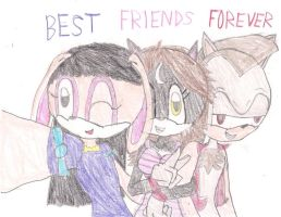 BEST FRIENDS FOREVER by BabyBunnyBun