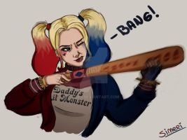 Harley Quinn from Suicide Squad by NtyS
