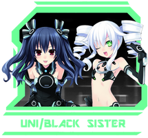 Icon - Uni/Black Sister by NepFrench