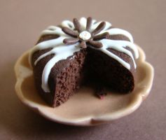 Simple Chocolate Cake by PetitPlat
