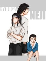 Naruto Series: Hyuuga Neji by yalper