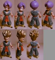 DragonballZ Trunks custom by pgv