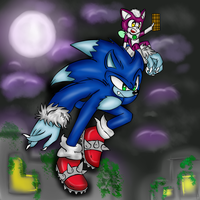 :Collab: Werehog In The Night by GsSKY