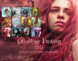 2015 FANTASY CALENDAR by clair0bscur