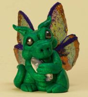 Custom Order Pixie Dragon by The-GoblinQueen