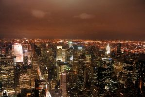 View from Empire State Building by mev3