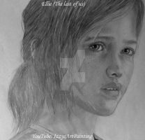 Ellie - The last of us #2 by IzzyWinchester